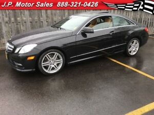 2013 Mercedes-Benz E-Class E350, Leather, Panoramic Sunroof, AWD
