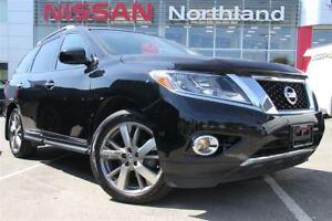 2014 Nissan Pathfinder Platinum/Leather/Heated Seats/Bluetooth
