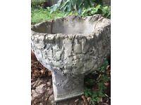 Vintage Large garden planter