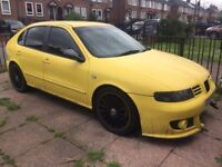 Seat Leon Cupra project Car with NOS