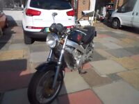 honda ntv 400 bros black and 1989 excellent condition