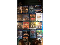 selection of blu-ray & 3d blu-ray