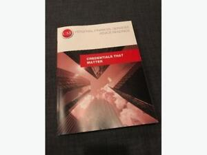 Personal Financial Services Advice (PFSA) textbook