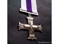 Military Cross Medal Awarded To Officers Of British Armed Forces Royal Repro