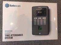 Safescan TA-8020 Fingerprint Time Attendance System for clocking on/off