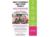 """FAMILY CONSTELATIONS"" DEVELOPMENT AND THERAPEUTIC WORKSHOP"