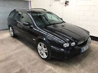 2006 Jaguar X type R 2.0 Diesel Estate in for *Navigation* Leather, Cruise, Bluetooth, Warranty