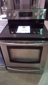 STAINLESS STEEL STOVE SAMSUNG SMOOTH TOP STOVE
