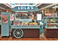 (WESTFIELD STRATFORD) LOLA'S CUPCAKES - full time - Join our team for a great career!