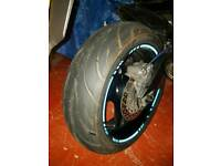 Partworn motorcycle tyre 190/50 zr17
