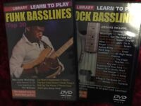Lick Library Learn to Play Funk and Rock Basslines Bass tuition DVD