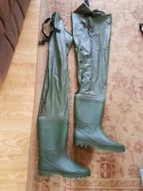 Fishing Waders thigh high size 11