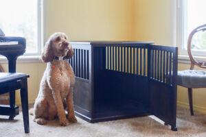Custom kennel for large dog