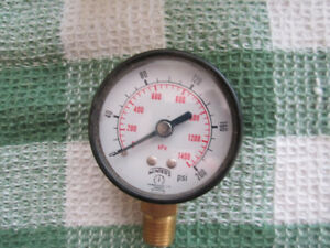 Winter pressure gauge