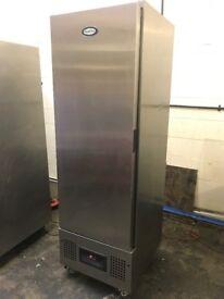 Foster commercial upright fridge, single door catering fridge