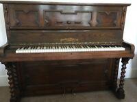 Broadwood White Piano