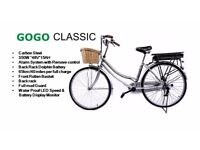 Electric Bike Go Go Classic Brand New Available in two colours