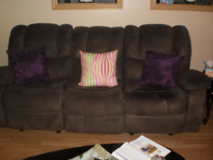 For Sale Couch with reliners   In DEER LAKE