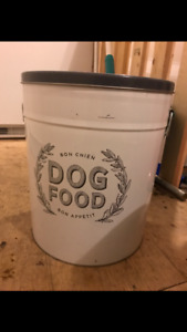 Dog Food Container for Sale