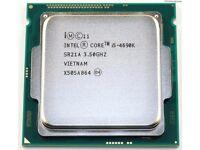 Intel Core i5 4690K 3.5 GHz quad mint condition