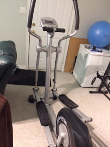 Eliptical, Total Gym and Ab chair