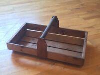 Vintage Gadening Trug/Basket - never used