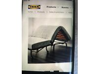 Brand new single bed chair ikea lycksele havet