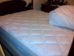 Queen Size Box Spring and Matress