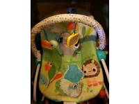 Bright starts baby rocker chair
