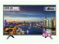 "Luxor 49"" 4K Smart Wi-Fi brand new boxed TV."