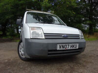 07 FORD TRANSIT CONNECT T200 L75 DIESEL VAN,MOT APRIL 018,2 OWNERS,PART HISTORY,2 KEYS,GREAT EXAMPLE