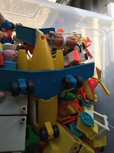 Large lot of classic fisher price toys