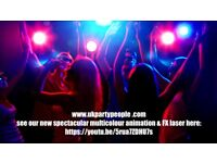 *FOR THE BEST RATES * WEDDING/PARTY MOBILE DJ HIRE* SPECTACULAR ANIMATION LASER -SEE IMAGE BELOW