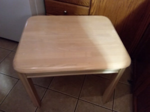 2 matching  end tables pick up today for 45.00