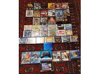 Various Retro Games, PS3, Gamecube, Nintendo DS, Dreamcast, Wii U