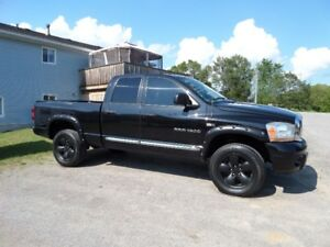 2007 DODGE RAM QUADCAB 4X4 HEMI - $8495. CERTIFIED & E-TESTED