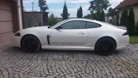 Jaguar xk 4.2 LHD white pearl in red interior black alloy wheels fully loaded great looking car