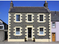 5 bedroom semi-detached Victorian family home in central Selkirk, Scottish Borders