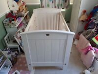 Boori Ranch Cot bed in white