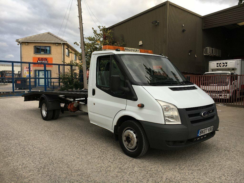2007 ford transit 2 4 tdci 115 bhp mk7 lwb recovery truck beavertail car transporter in. Black Bedroom Furniture Sets. Home Design Ideas