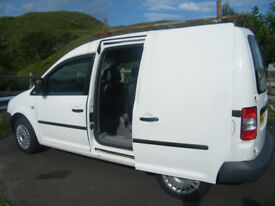 Volkswagen Caddy - front and rear leather seats, clean, carpeted, insulated, possible camper