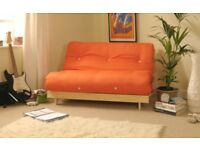 DOUBLE FUTON SOFABED - Orange