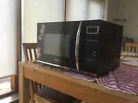 DeLonghi EC92 28L 900W Combi Microwave Black - 900W - as new - unused.