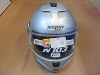 Motorcycle Flip Up Helmet Nolan N-Con Size Small