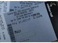 3 spare tickets - The Outlook Orchestra - Roots Manuva - Fri 21-07-17