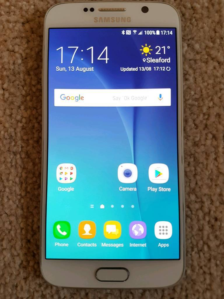 Samsung Galaxy S6 32Gb Pearl White on EE/T-Mobile/Orange