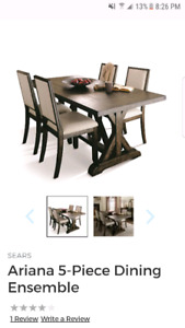 8 piece dining set sealed in boxes