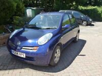 NISSAN MICRA SVE 1.4CC,2004 ,NEW 12 MONTHS MOT WITH RECENT SERVICE CARRIED OUT