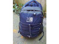 Karrimor 20L rucksack. Spectre 2 model in Navy Blue