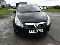 56 Vauxhall Corsa 1.2 club 5dr in black